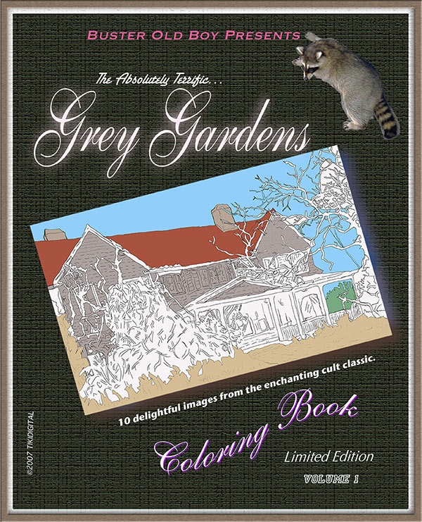 grey gardens coloring book